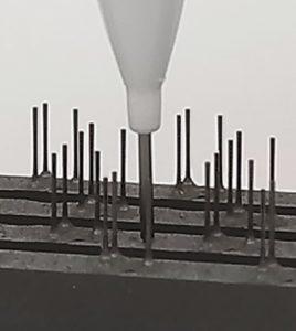 Figure 4: Fine Electrode Detail